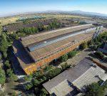 کارگاه تولید شرکت آهنگری تراکتورسازی ایران از نمای بالا