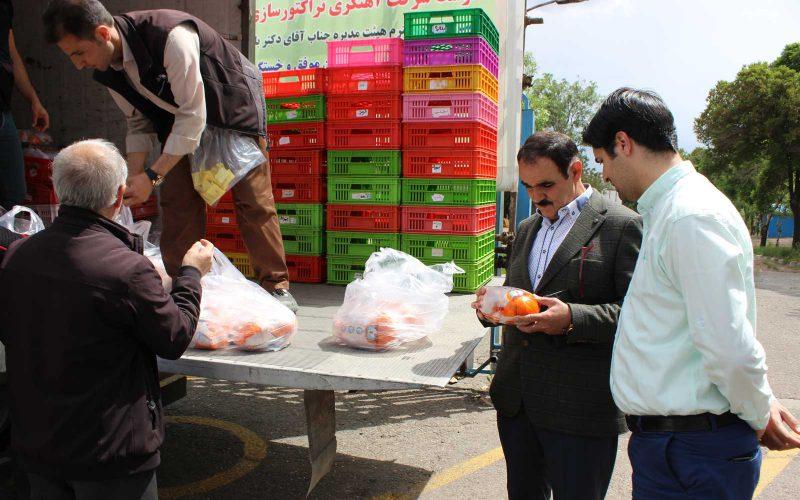 توزیع اقلام غذایی به مناسبت هفته کارگر و ماه مبارک رمضان