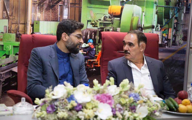 بازدید دکتر مقیمی و هیئت همراه از  شرکت آهنگری تراکتورسازی ایران